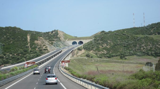 Spanish highway on way to Seville