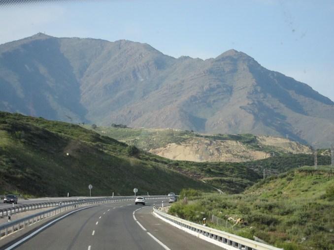 Spanish highway near Seville