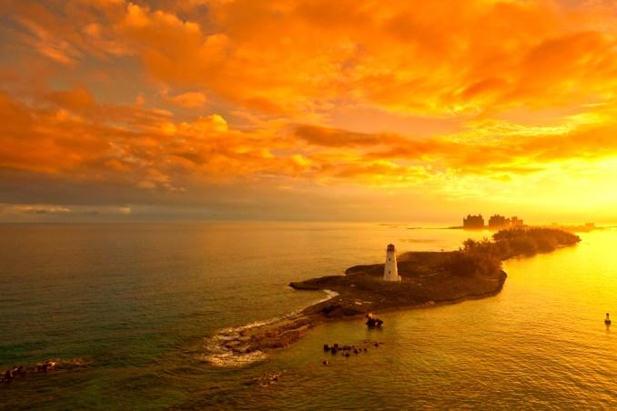 nassau bahamas lighthouse photo