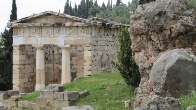 Ruins at Delphi Greece
