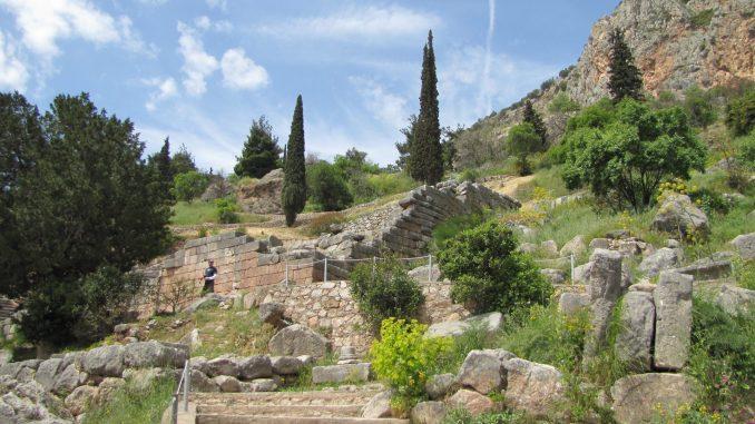 Beautiful Delphi Greece