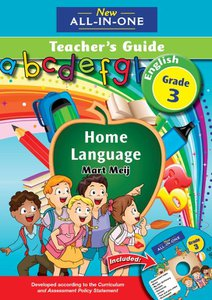 New All-in-One Grade 3 English Home Language Teacher's Guide (CD included)