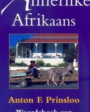 Annerlike Afrikaans: Woordeboek van Afrikaanse kontreitaal