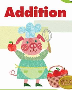 Math Workbooks Grade 1 : Addition