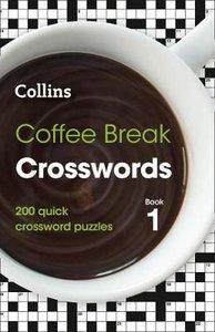 COFFEE BREAK CROSSWORDS BOOK 1 PB