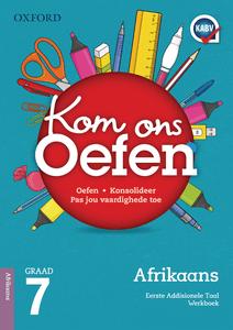 Oxford Kom Ons Oefen Afrikaans EAT Graad 7 Oefenboek