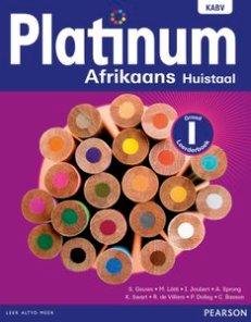 Platinum Afrikaans Huistaal Graad 1 Leerderboek