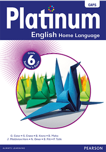 Platinum English Home Language Grade 6 Teacher's Guide