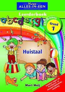 Nuwe Alles-In-Een Graad 1 Huistaal Leerderboek (Volkleur)