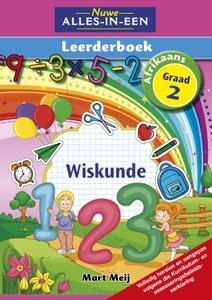 Nuwe Alles-In-Een Graad 2 Wiskunde Leerderboek (Volkleur)
