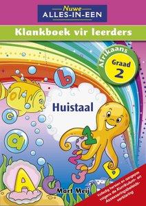 Nuwe Alles-In-Een Graad 2 Huistaal Klankboek vir leerders Leerderboek (Volkleur)
