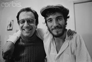 Jon Landau y Bruce Springsteen