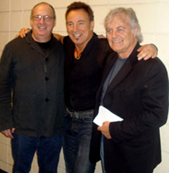 Mike Appel, Bruce Springsteen, Jon Landau