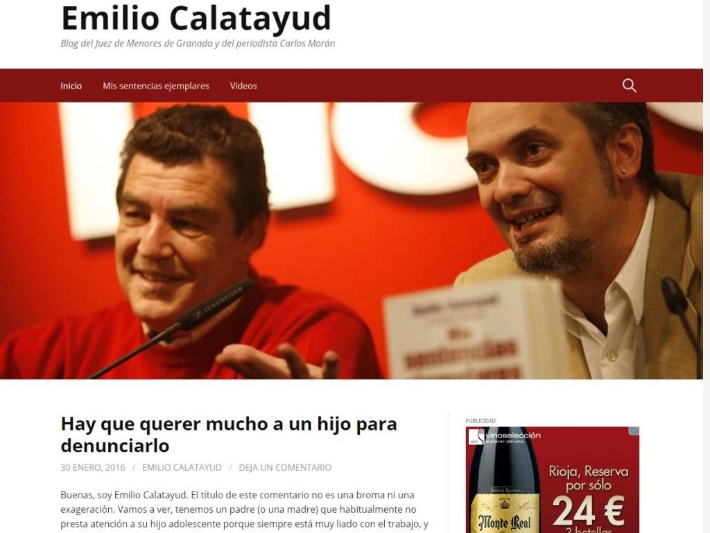 BloG Juez Emilio Calatayud
