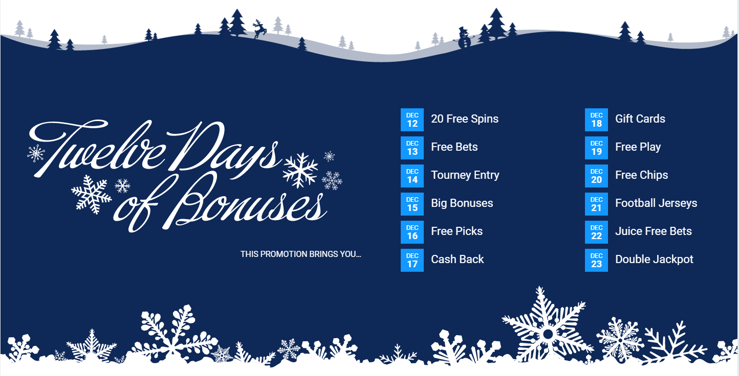 12 Days of Bonuses