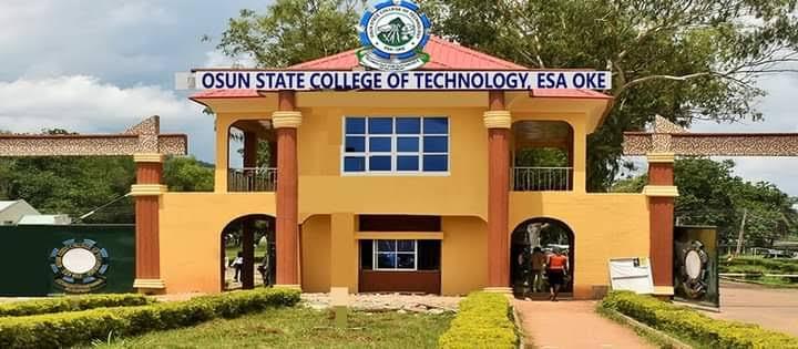 Osun State College Of Tech cut off mark