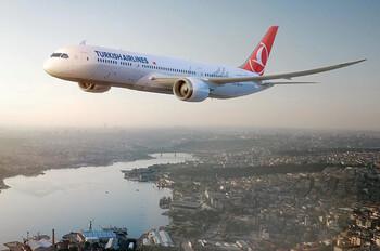 Авиакомпания Turkish Airlines назвала дату открытия международных рейсов