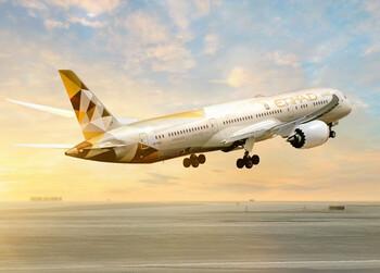 Etihad Airways предлагает купить ваучер на путешествие и получить 50% в виде бонуса