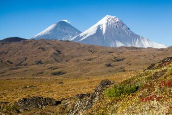 На Ключевском вулкане туристы попали под камнепад