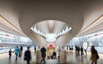 Новую станцию метро Москвы спроектирует легендарное бюро Захи Хадид