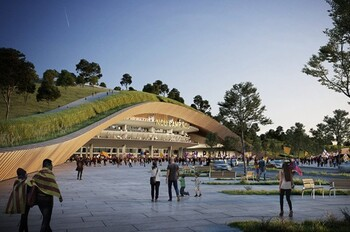Стадион Камп Ноу в Барселоне накроют «зелёным  одеялом»