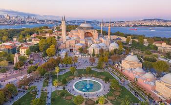 В Айя-Софии в Стамбуле прошла первая исламская служба