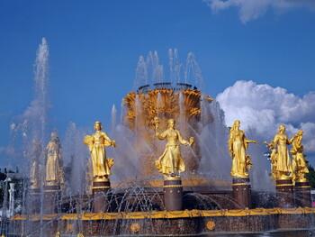 В Москве отложили запуск фонтанов