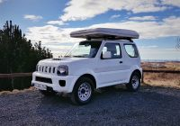 Suzuki Jimny A/T Camper - Rooftent 4X4 - Campers in Iceland