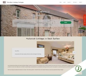 Tithe Barn Cottages - Homepage