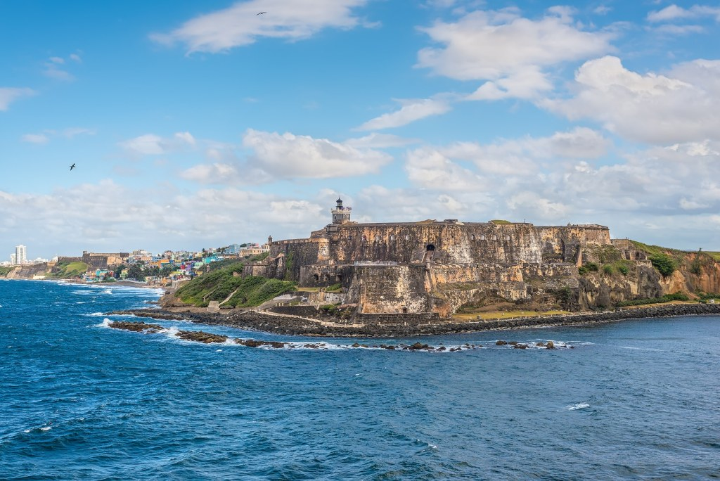 View of El Morro Fortress in San Juan, Puerto Rico by Booking Express Travel