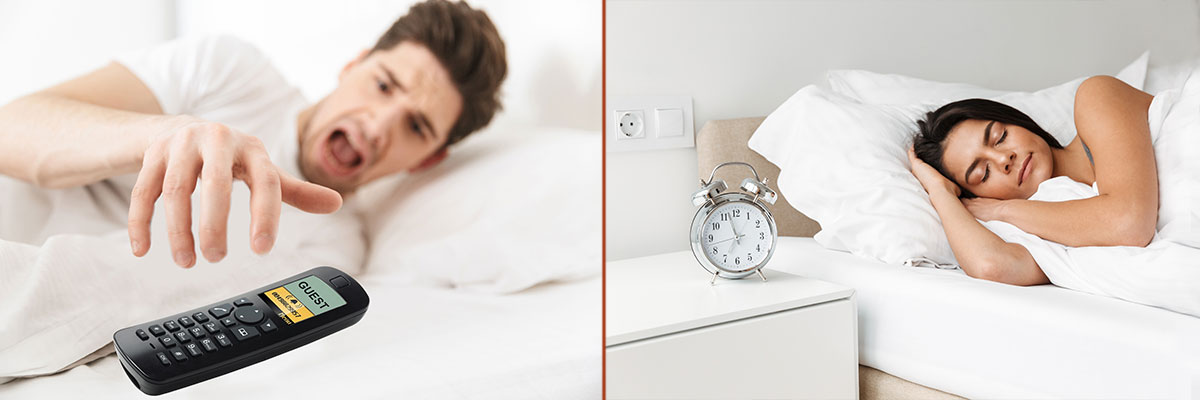 Booking Lock - zamek na kod zapewnia komfort i spokojny sen