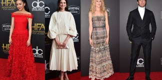 What the Stars Wore at the Hollywood Film Awards 2018