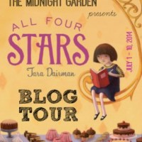 All Four Stars by Tara Dairman Blog Tour: Caramel Walnut Brownie Recipe & Giveaway!