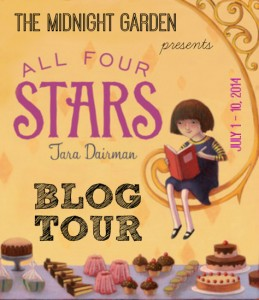 All Four Stars by Tara Dairman Blog Tour: Caramel Walnut Brownie Recipe & Giveaway!