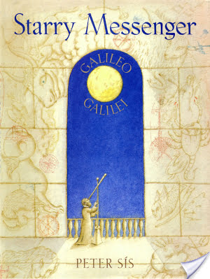 """#AtoZchallenge: """"S"""" is for Starry Messenger (1996)  by Peter Sis"""