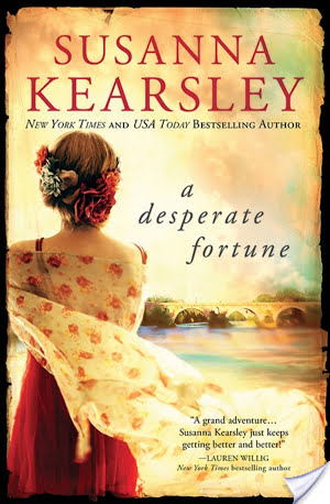Waiting on Wednesday for A Desperate Fortune by Susanna Kearsley