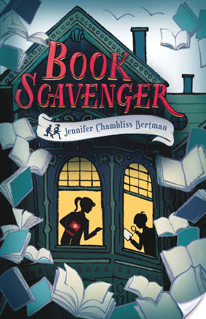 ARC Mini Review: Book Scavenger (2015) by Jennifer Chambliss Bertman