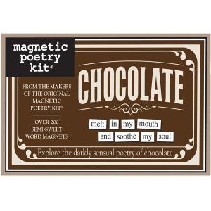 Magnetic Poetry Chocolate