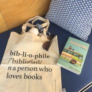Linnen tas Bibliophile