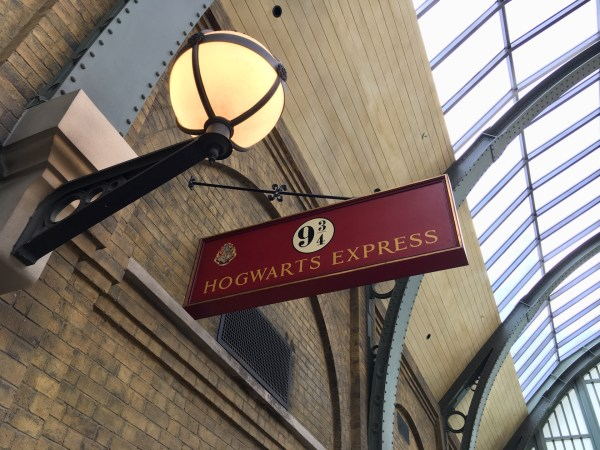 Hogwarts Express sign (Orlando)