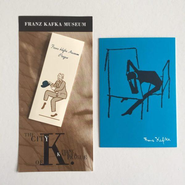 Kafka Museum souvenirs