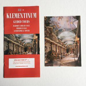 Folder en kaart Klementinum