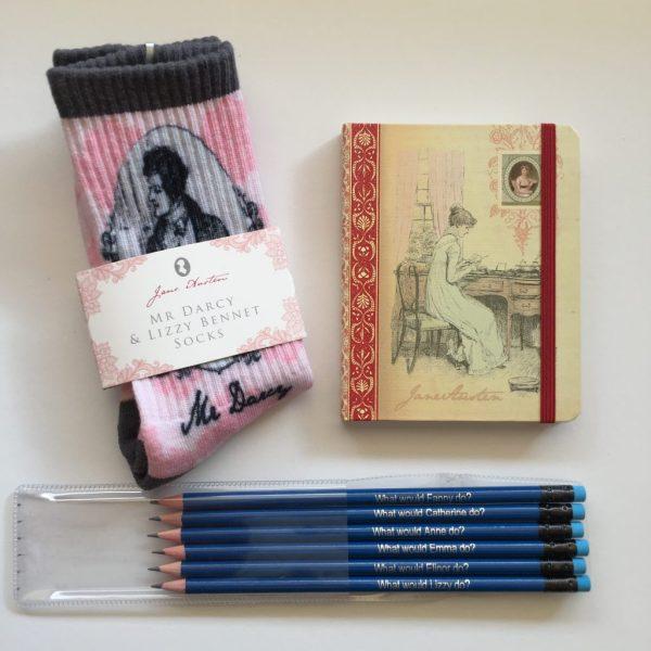 Jane Austen webshop artikelen