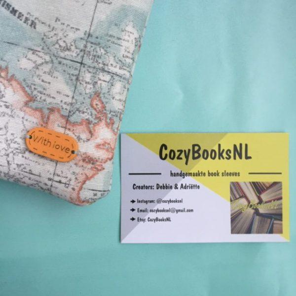 Booksleeve detail CozyBooksNL