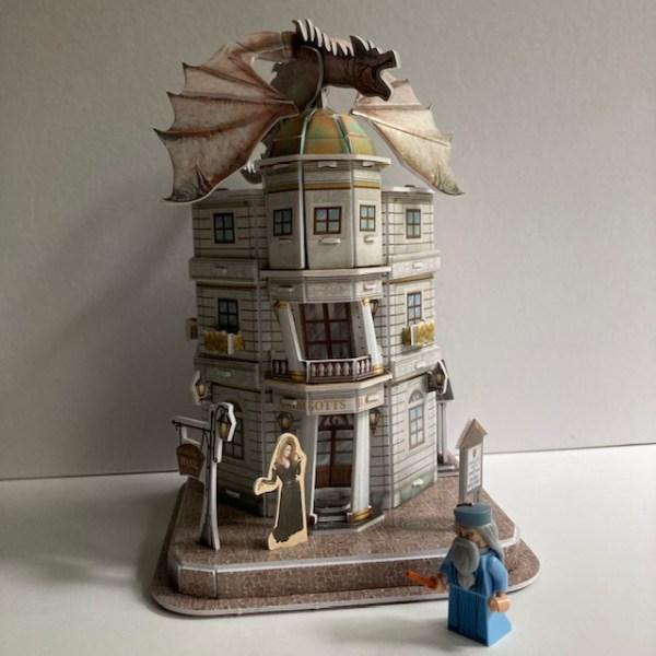 3D puzzel Gringotts bank