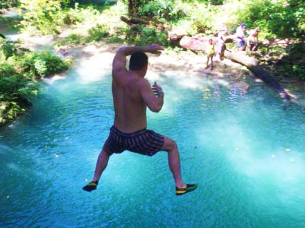 Blue Hole, Secret Falls & Bamboo Blu Beach | Book Jamaica Excursions | bookjamaicaexcursions.com | Karandas Tours