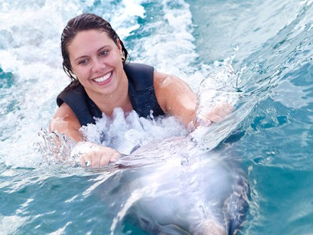 Dolphin Swim Adventure Program Negril | Book Jamaica Excursions | bookjamaicaexcursions.com | Karandas Tours