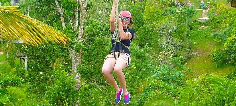 Zipline Adventure | Book Jamaica Excursions | bookjamaicaexcursions.com | Karandas Tours