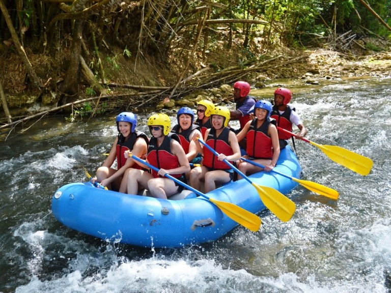 White Water Rafting Falmouth | Book Jamaica Excursions | bookjamaicaexcursions.com | Karandas Tours