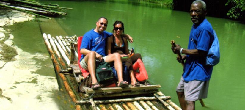 Bamboo Rafting | Book Jamaica Excursions | bookjamaicaexcursions.com | Karandas Tours